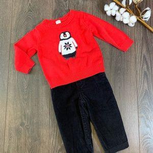 Adorable ❄️ Winter Penguin Outfit 18m